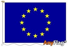 - EUROPEAN UNION ANYFLAG RANGE - VARIOUS SIZES